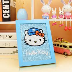 Hello Kitty med ram