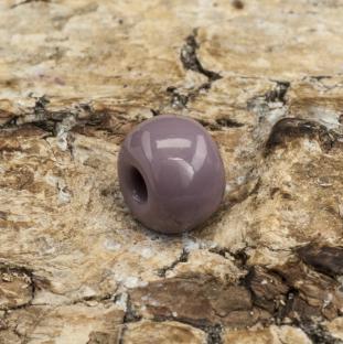 Seed bead opak 5 mm, Grålila (20gr)