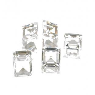 Swarovski Square 10x10 mm, Crystal (st)