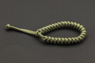 Paracord 550, Moss Silver Grey Twist (meter)