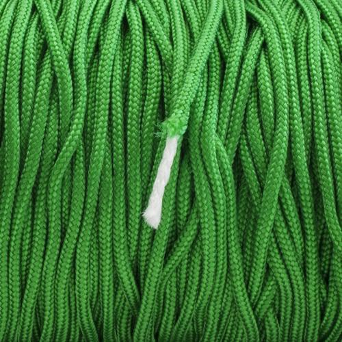 Paracord 2 mm, Grön (meter)