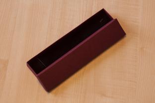 Presentask 4x21 cm, Vinröd (st)