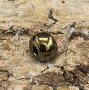Seed bead Metallic 5 mm, Brunmulti (20gr)