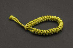 Paracord 550, Dirty Lime (meter)