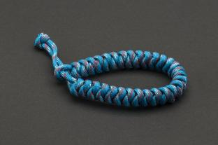Paracord 550, Blueberry Stripe (meter)