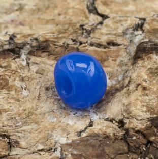 Seed bead opak 5 mm, Koboltblå (20gr)