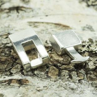 Haklås 22x120 och 19x12 mm, Silverfärg (st)