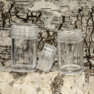 Pärlask med 30 små askar 140x167x55 mm (st)