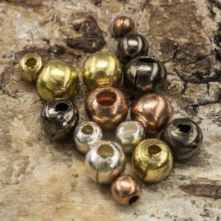 Metallpärla 3-6 mm, färgmix (50g)