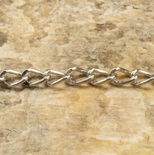 Ringkedja 48 mm, Silverfärg (st)
