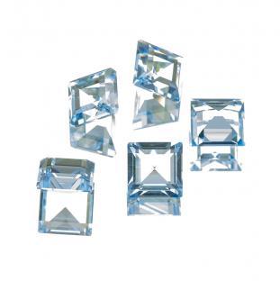 Swarovski Square 10x10 mm, Aquamarine (st)