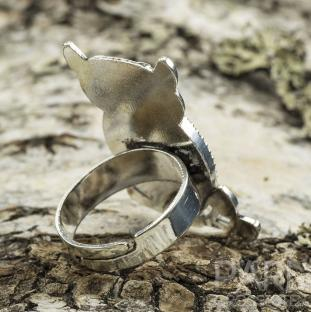 Ringstomme Uggla, Antiksilver (st)